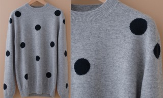 Chauncey Cashmere Dots Sweater