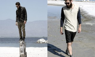 COMUNE Men's Looks for Spring/Summer 2012