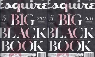 "Esquire's ""Big Black Book"" for Autumn/Winter 2011"