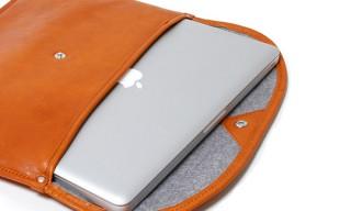 HOBO Shade Leather Macbook Sleeve