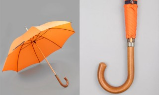 London Undercover Orange Umbrella