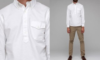 The New England Shirt Co. Pullover Oxford