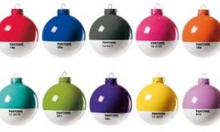 Pantone Christmas Balls