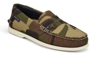 Sperry Camo Loafers for Penfield
