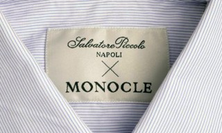 Salvatore Piccolo for Monocle Shirts