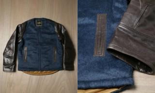 Sasquatchfabrix Wool & Cowhide Jacket
