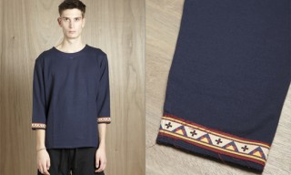 Sasquatchfabrix Geometric Sleeve Sweatshirt