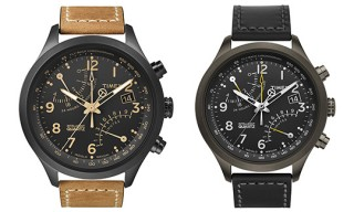 Timex Intelligent Quartz Flyback Chronographs