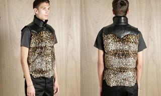 Wacko Maria Leopard Print Vest