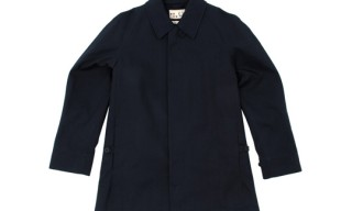 6876 for Fred Perry Blank Canvas Car Coat
