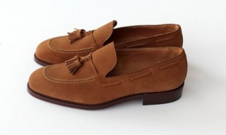 Run Of The Mill Cola Suede Loafers