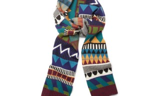 Burberry Prorsum Patterned Scarf