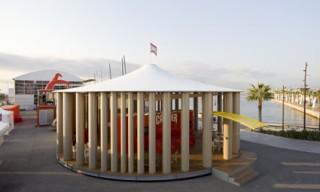 Camper Pavilion by Shigeru Ban