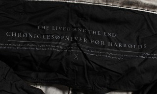The Chronicles of Never for Harrolds – Capsule Collection 2011