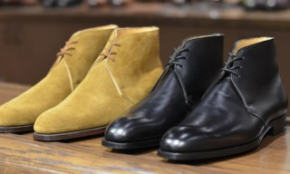 George Cleverley Nathan Chukka Boots