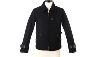 Gold Wool Sports Jacket
