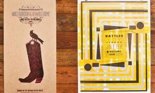 Hammerpress Letterpress Posters
