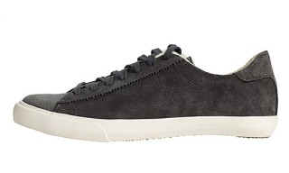 James Perse Lace-up Court Sneakers by Seavees