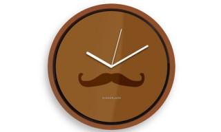 Kikkerland Mustache Clock
