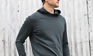 Mission Workshop Merino Wool Pullover Hoodie