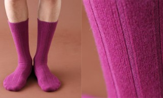 Tabio Cashmere Ribbed Socks