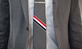 Thom Browne Tie for Fashion Night Out Tokyo