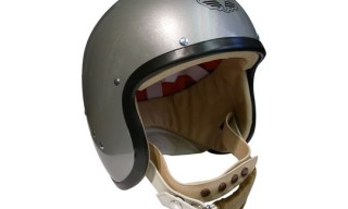 Lewis Leathers 'The Super Jet' Helmet