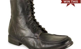 Win This! | Bed Stu Cobbler Leo Black Rust Boots