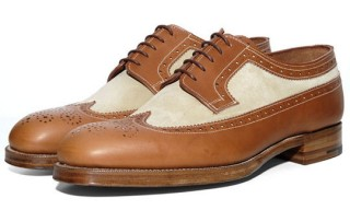 Grenson for Heritage Research Long Wing Brogue Shoes