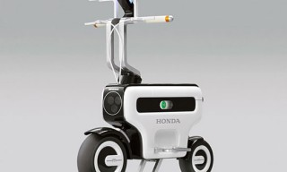 Honda Motocompo Electric Scooter