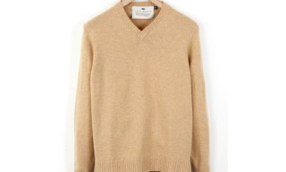 Inis Meáin V-Neck Sweater for Nitty Gritty