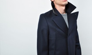 Martin Margiela 14 – Contrast Collar Peacoat