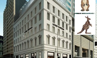 The new Louis Vuitton Maison Store in Sydney, Australia