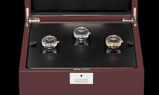Officine Panerai New Editions of Radiomir Watch Set