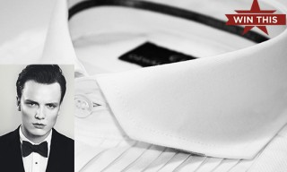 Win This!   Ozwald Boateng Signature Chisel Collar Shirt & Bow Tie