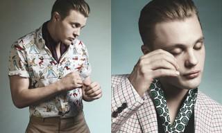 Prada Spring/Summer 2012 Campaign featuring Michael Pitt