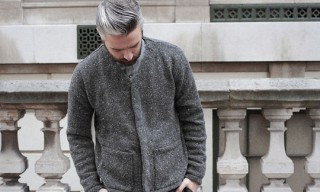 S.E.H Kelly Donegal Wool Cardigan