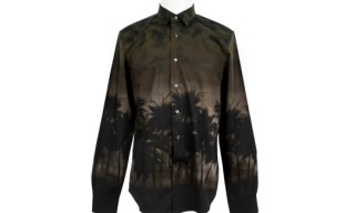 Valentino Palm Tree Print Shirt