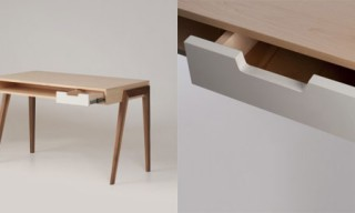 Wedgwood Angled Leg Desk