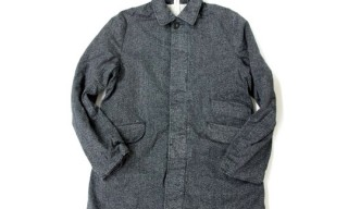 Hexico Salt and Pepper Overcoat