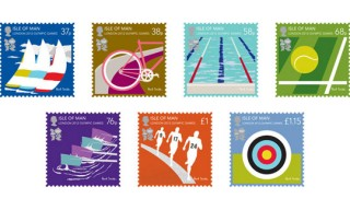 Paul Smith Isle of Man Olympic Stamp Collection