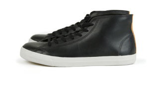 Veja for FrenchTrotters Black Hightop Sneakers