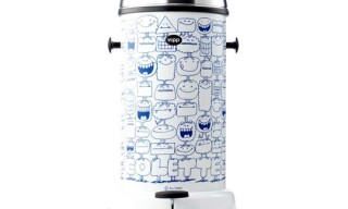 Vipp Trashcan by Kevin Lyons for Colette