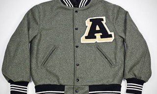 Ace Hotel Letterman's Jacket by Centralia Knit Mills