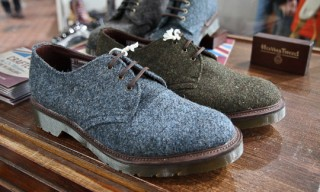 Dr. Martens – Harris Tweed, Pendleton, Stussy – Autumn/Winter 2012