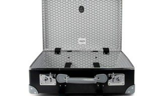 "Globe-Trotter for Etiquette Clothiers ""Koi Clouds"" Trunk"