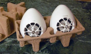 Olasonic TW-S7 – Egg-Shaped USB Speakers