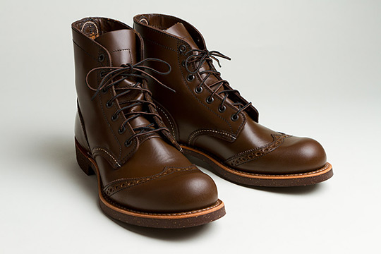 Red Wing 6-Inch Brogue Ranger Boots for Autumn/Winter 2012