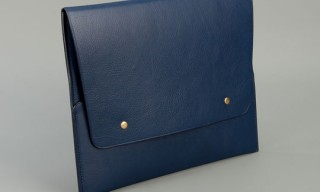 Steve Mono Leather iPad Case
