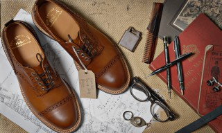 Tricker's for End Clothing Burnished Toe Cap Shoe & Boot